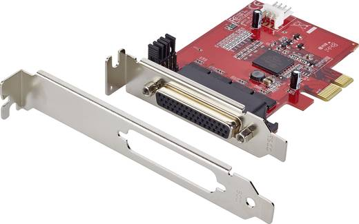4 poorten Seriële interfacekaart PCIe
