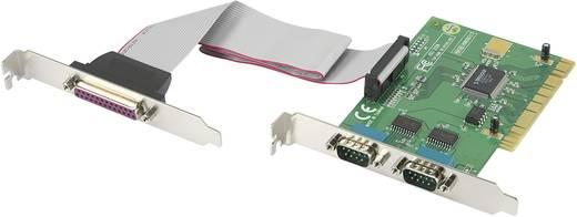 3 poorten Seriële/parallelle interfacekaart PCI