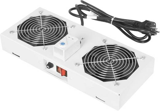 19 inch 2 x Patchkast-ventilator
