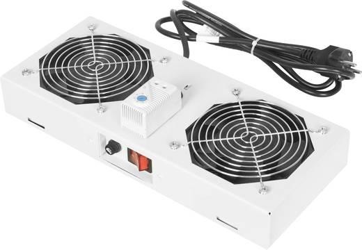 Digitus Professional DN-19 FAN-2-WM-T 19 inch 2 x Patchkast-ventilator Grijs