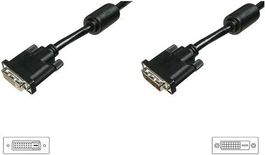 Verlengkabel DVI Digitus [1x DVI-stekker 24+1-polig - 1x DVI-bus 24+1-polig] 4.5 m Zwart