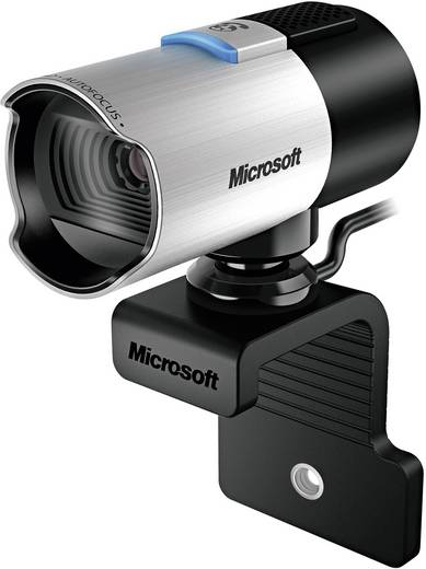 Full HD-webcam 1920 x 1080 pix Microsoft LifeCam Studio Standvoet, Klemhouder
