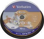 Verbatim DVD-R 8 cm Printable spindel 10 st.