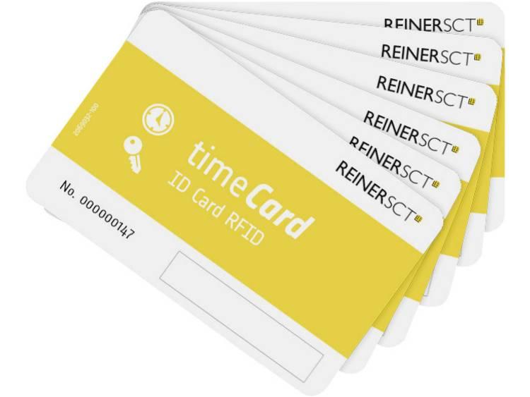 ReinerSCT timeCard RFID Chipkarten 25 DES Blanco chipkaarten