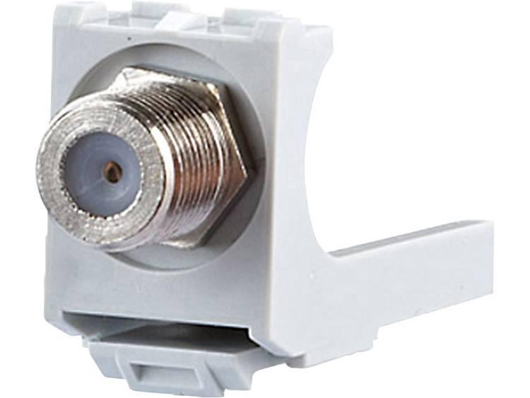 Coax-inbouwmodule E-Dat Metz Connect 130898-01-I