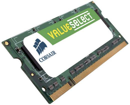 Corsair ValueSelect VS512DS400 512 MB DDR-RAM Laptop-werkgeheugen module 400 MHz 1 x 512 MB