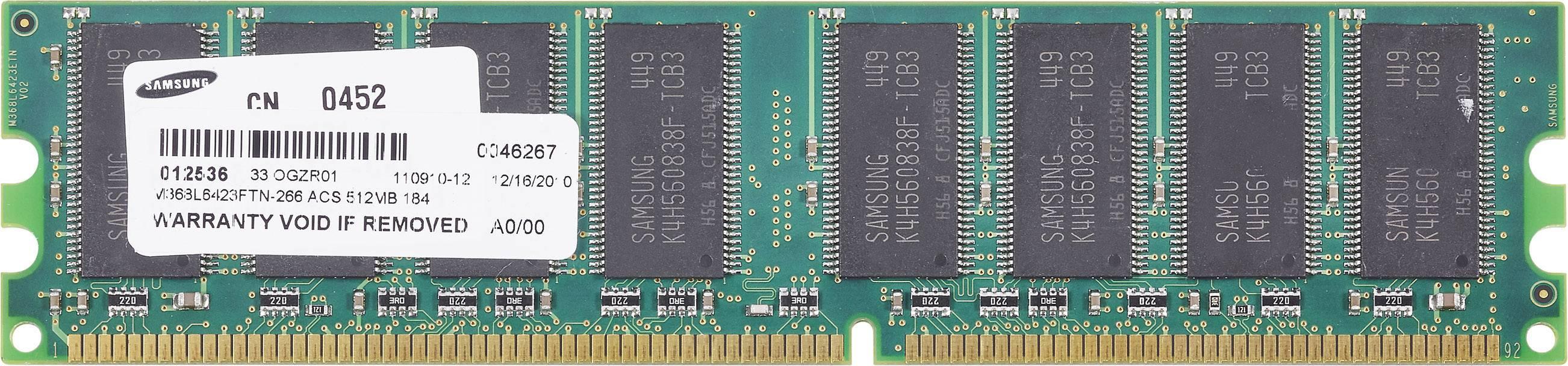 Pc Werkgeheugen Module Oem 512mb Ddr Ram 266mhz 512 Mb 1 X 266 Mhz