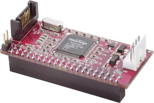 Interface-converter [1x SATA-stekker 7-polig - 1x IDE bus 40-polig]