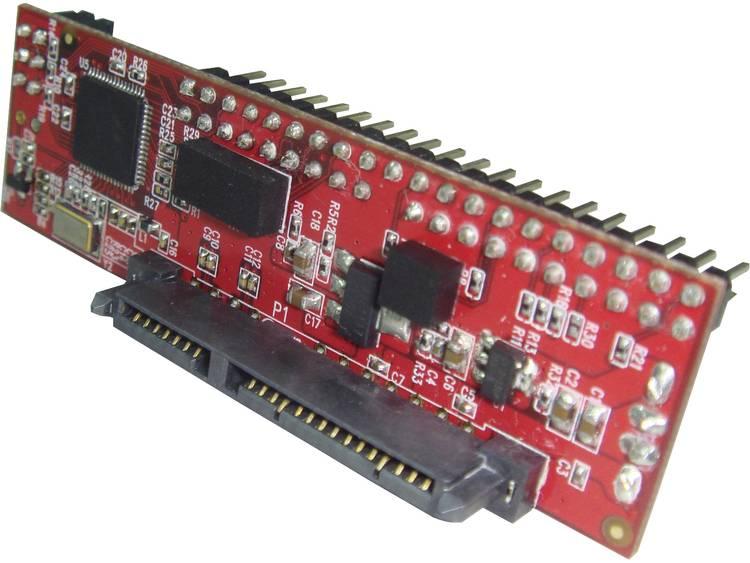 Interface-converter [1x IDE stekker 40-polig - 1x SATA-combi-bus 15+7-polig] Renkforce RF-4886682