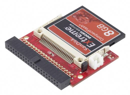 Interface-converter [1x IDE bus 40-polig - 1x CompactFlash-stekker 50-polig]