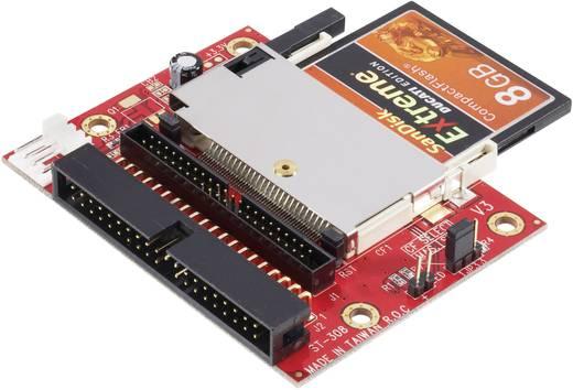 Interface-converter [1x CompactFlash-stekker 50-polig - 2x IDE stekker 40-polig, IDE stek
