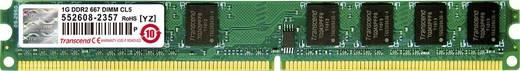 Transcend JetRam JM667QLU-1G 1 GB DDR2-RAM PC-werkgeheugen module 667 MHz 1 x 1 GB