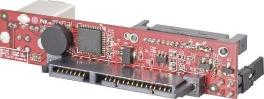 Interface-converter [1x USB 3.0 bus B - 1x SATA-combi-bus 15+7-polig]
