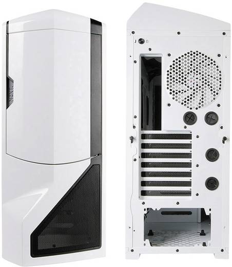 Tower PC-behuizing NZXT PHAN-001WT Wit