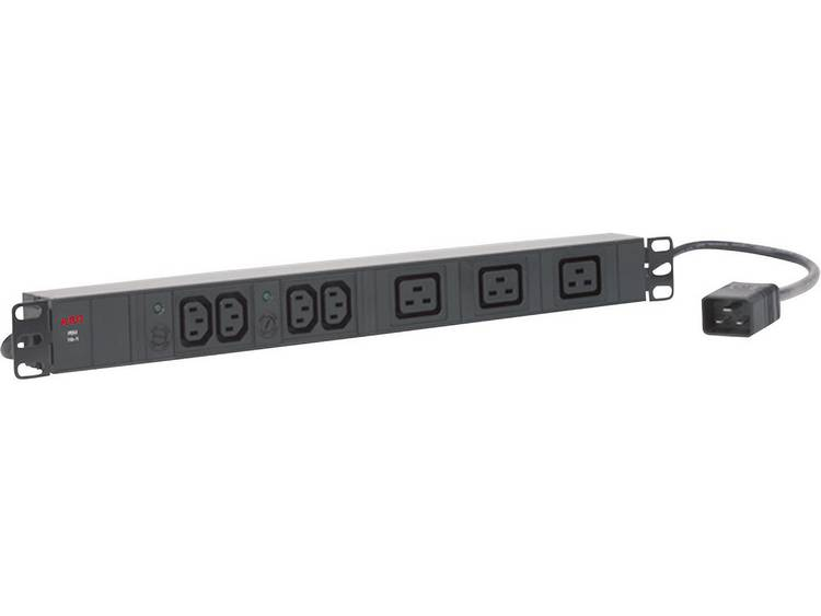 AEG Power Solutions PDU 16-1 Patchkast-stekkerdoos Zwart