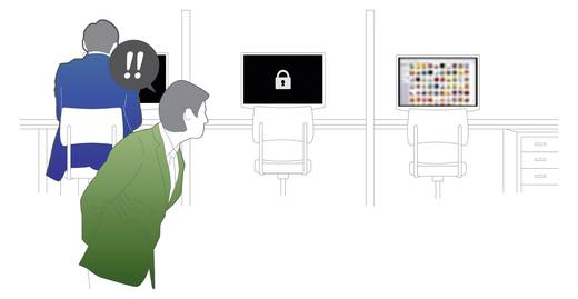 Screen Keeper Screen Keeper wit 1 kaart voor 1 PC Screen Keeper