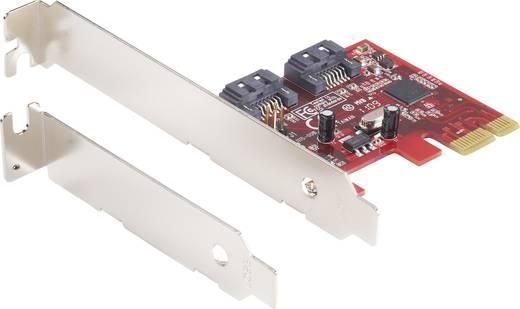 2-poorts SATA III PCI Express-kaart en SSD met RAID