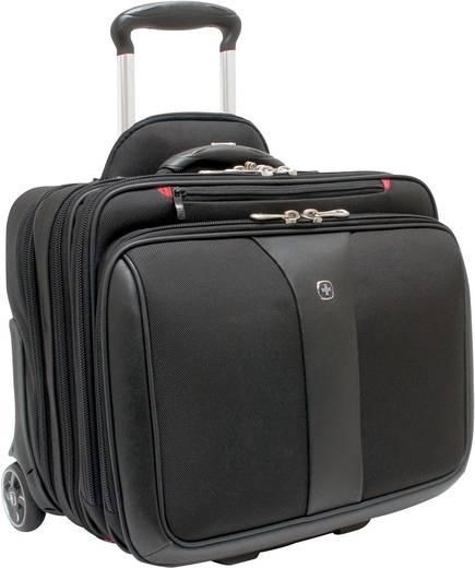 """Wenger Patriot Laptop trolley Geschikt voor maximaal (inch): 39,1 cm (15,4"""") Zwart"""