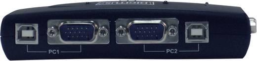 Digitus DC-11201-1 2 poorten KVM-schakelaar VGA USB, PS/2 1920 x 1440 pix