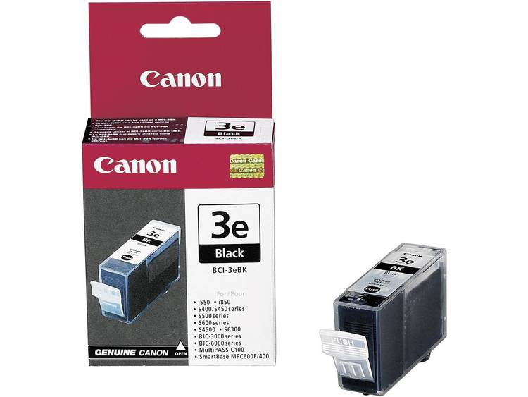 Canon Inkt BCI-3eBK Origineel Zwart 4479A002
