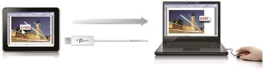 KVM Kabel j5create [1x USB 2.0 stekker A - 1x USB 2.0 stekker A] 1.80 m Wit