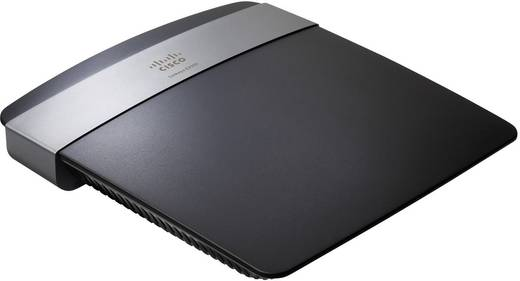 Linksys E2500 WiFi router 2.4 GHz, 5 GHz 600 Mbit/s