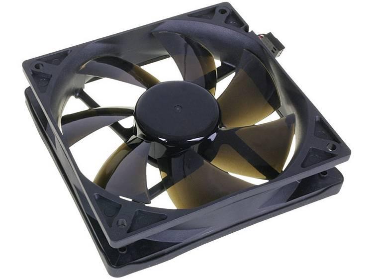 PC ventilator NoiseBlocker L-PLPS Zwart (b x h x d) 120 x 120 x 25 mm