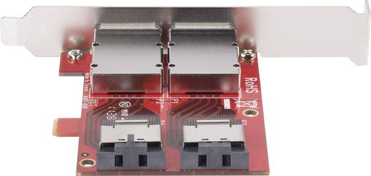 Dual Mini SAS SFF8088 naar SFF 8087 PCI-Express-adapter