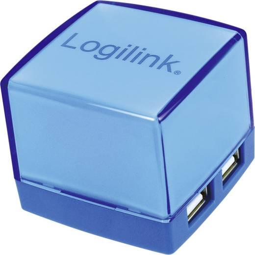 LogiLink 4-poorts USB 2.0-hub, blauw