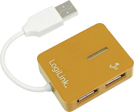 LogiLink 4 poorten USB 2.0 hub UA0137 Oranje
