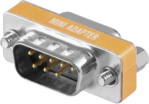 Goobay Serieel Adapter [1x D-sub stekker 8-polig - 1x D-sub bus 9-polig] Oranje