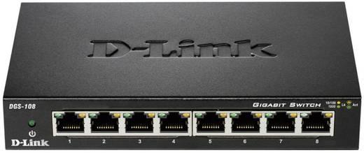 D-Link DGS-108 Netwerk switch RJ45 8 poorten 1 Gbit/s