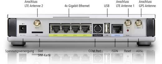 Lancom Systems 1781-4G LAN-router Geïntegreerd modem: LTE 100 Mbit/s