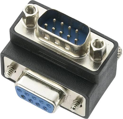 Renkforce Serieel Adapter [1x D-sub stekker 9-polig - 1x D-sub bus 9-polig] Zwart