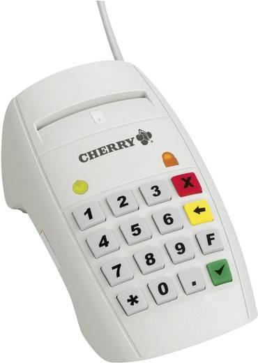 CHERRY USB Chipkartenleser mit Bedienfeld Chipkaartlezer
