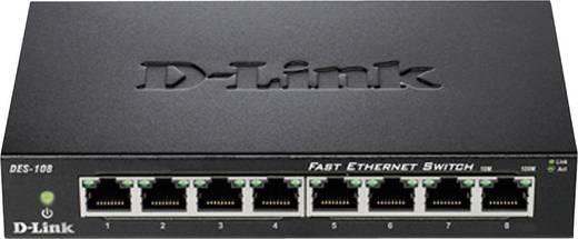 D-Link DES-108 Netwerk switch RJ45 8 poorten 100 Mbit/s