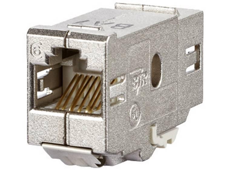 RJ45-inbouwmodule E-Dat CAT 6 Metz Connect 1309A0-I