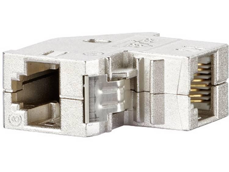 RJ45-inbouwmodule E-Dat CAT 6 Metz Connect 1309A1-I