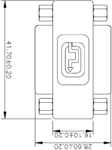 DVI Adapter [1x DVI-bus 24+5-polig - 1x DVI-bus 24+5-polig] Zwart Renkforce