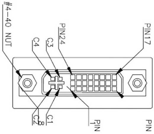 Adapter DVI [1x DVI-bus 24+5-polig - 1x DVI-bus 24+5-polig] Zwart Renkforce