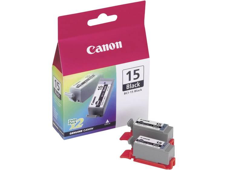 Canon Inkt combipack BCI-15bk x2 Origineel Zwart 8190A002