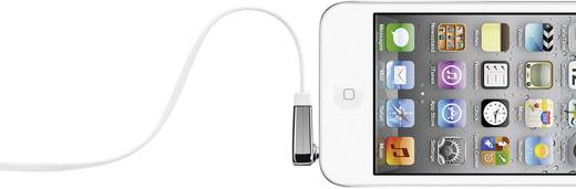 Belkin Jackplug Audio Aansluitkabel [1x Jackplug male 3.5 mm - 1x Jackplug male 3.5 mm] 0.90 m Wit Zeer flexibel