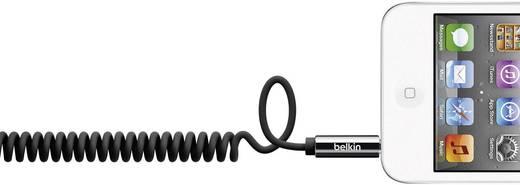 Belkin Jackplug Audio Kabel [1x Jackplug male 3.5 mm - 1x Jackplug male 3.5 mm] 1.80 m Zwart Spiraalkabel