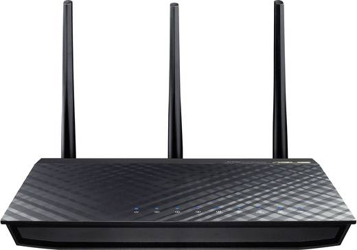 Asus RT-AC66U WiFi router 2.4 GHz, 5 GHz 1.75 Gbit/s