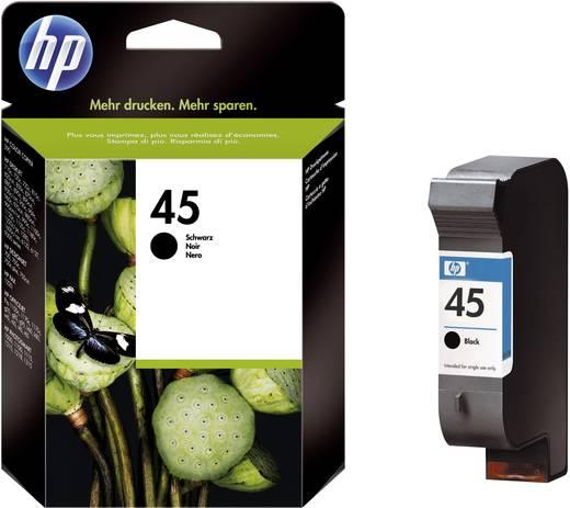 HP Inkt 45 Origineel Zwart 51645AE