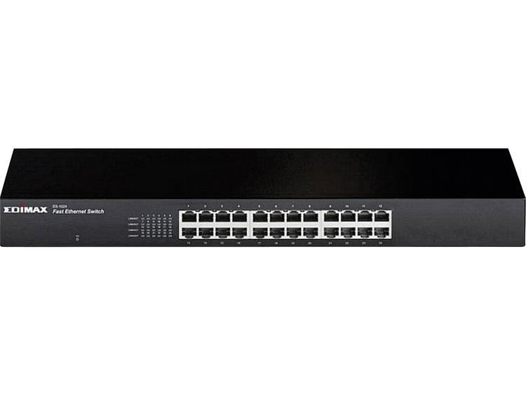 EDIMAX ES-1024 19 netwerk-switch RJ45 24 poorten 100 Mbit/s