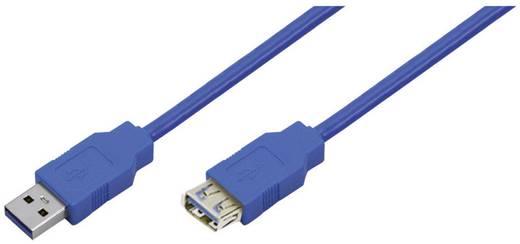 LogiLink USB 3.0 verlengkabel stekker A/stekker A 2 m blauw