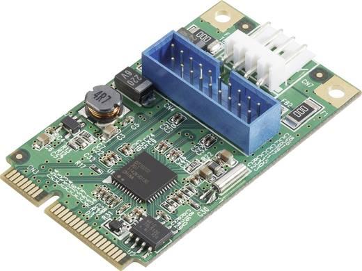 1 poort USB 3.0-controllerkaart Mini-PCIe