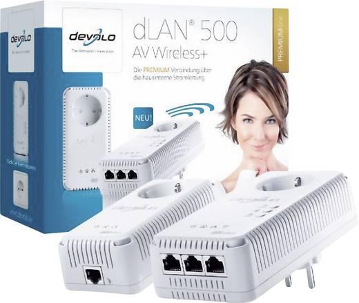 Devolo dLAN 500 AV Wireless+ Powerline WiFi starterkit 500 Mbit/s