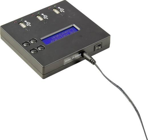 2-voudig USB-kopieerstation U-Reach UB300 USB 2.0 Draagbaar